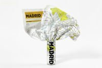 Mapa Palomar Crumpled City TP Madrid