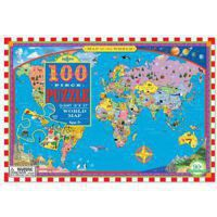 Puzzle 100 el. World Map