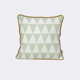 Poduszka Ferm Living Little Geometry Mint