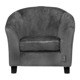 Mini sofa Quax Velours Dark Grey