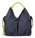 Torba Green Label Neckline Bag Denim Blue