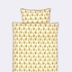 Komplet pościeli  Ferm Living Dotty Yellow Junior, 100x140cm