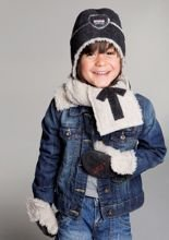 Czapka Lodger Basic Boy Dark Grey 4-7y