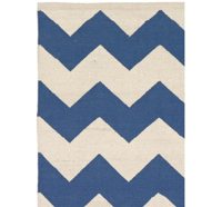 Dywan LIV, model Wigwam kolor blue/white