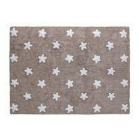 Dywan Lorena Canals, Stars, Linen White
