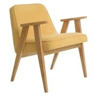 Fotel 366 Concept DANIM Collection, Mustard Oak 02