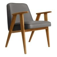 Fotel 366 Concept ECO LEATHER Collection, Mouse Grey Oak 03