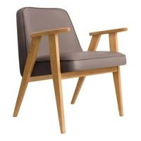 Fotel 366 Concept ECO LEATHER , Taupe Oak 02