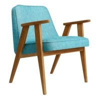 Fotel 366 Concept LOFT Collection, Turquoise Oak 03