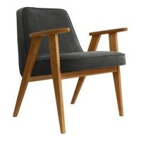 Fotel 366 Concept VELVET Collection, Graphite Oak 03