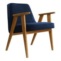 Fotel 366 Concept VELVET Collection, Indigo Oak 03