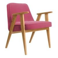 Fotel 366 Concept VELVET Collection, Pink Oak 02