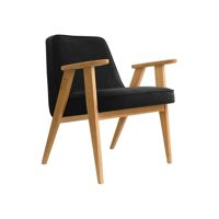 Fotel 366 Concept, wersja Junior VELVET Collection, Black Oak 02