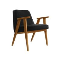 Fotel 366 Concept, wersja Junior VELVET Collection, Black Oak 03