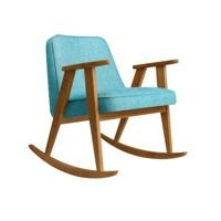 Fotel bujany 366 Concept, wersja Junior, LOFT Collection, Turquoise Oak 03