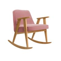 Fotel bujany 366 Concept, wersja Junior, VELVET Collection, Powder Pink Oak 02