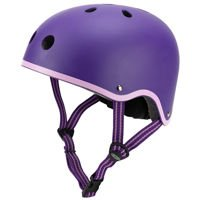 Kask Micro fioletowy matowy S