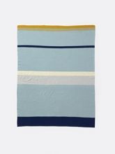 Kocyk Ferm Living Little Stripy Blue