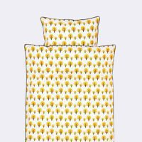 Komplet pościeli  Ferm Living Dotty Yellow Junior