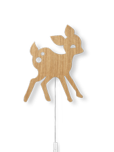 Lampa Ferm Living MY Deer, Oiled Oak