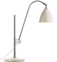 Lampa nablatowa Gubi, model Bestlite BL1, kolor Off-White/Chrome