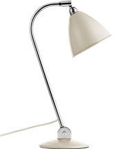 Lampa nablatowa Gubi, model Bestlite BL2, kolor Off-White/Chrome