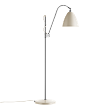 Lampa podłogowa Gubi, model Bestlite BL3M, kolor Off-White/Chrome