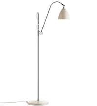 Lampa podłogowa Gubi, model Bestlite BL3S, kolor Off-White/Chrome