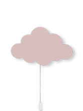 Lampa ścienna Ferm Living Cloud, Dusty Rose