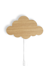 Lampa ścienna Ferm Living Cloud, Oiled Oak