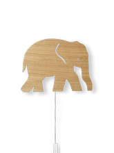 Lampa ścienna Ferm Living Elephant, Oiled Oak