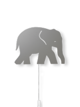 Lampa ścienna Ferm Living Elephant, Warm Grey