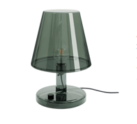 Lampa stołowa Fatboy, Trans-parents, Dark Grey