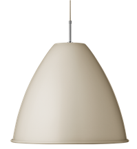 Lampa sufitowa Gubi, model Bestlite BL9 L, kolor Off-White/Chrome