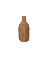 Lampa sufitowa pleciona ferm Living ratanowa Bottle Natural