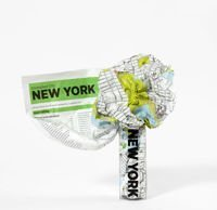 Mapa Palomar Crumpled City TP New York