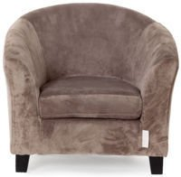 Mini sofa Quax Velours Taupe