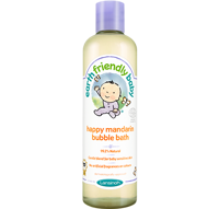 Płyn do kąpieli Earth Friendly Baby Bubble Bath, radosna mandarynka