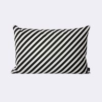 Poduszka Ferm Living Black Stripe