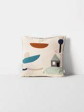 Poduszka Ferm Living Seaside, off-white