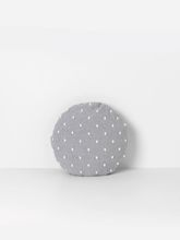 Poduszka pufa Ferm Living Popcorn Round Cushion Grey