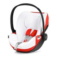 Pokrowiec na lato do fotelika Cybex Cloud Z, White