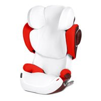 Pokrowiec na lato do fotelika Cybex Solution Z-Fix, White