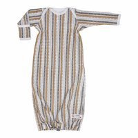 Śpiworek Lodger Newborn z rękawami Hopper Stripe Xandu, Honey