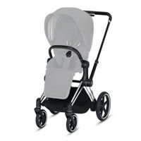 Stelaż do wózka Cybex e-Priam 2.0, Chrome Black