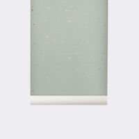 Tapeta Ferm Living Confetti Mint