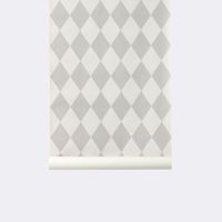 Tapeta Ferm Living Harlequin Grey