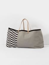 Torba Ferm Living Herman Big Bag szara