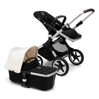 Wózek 2 w1 Bugaboo Fox Aluminium - Black/Fresh White