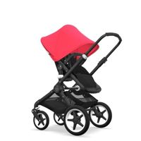 Wózek 2 w1 Bugaboo Fox Black - Black/Neon Red